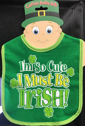 Irish Baby Bib