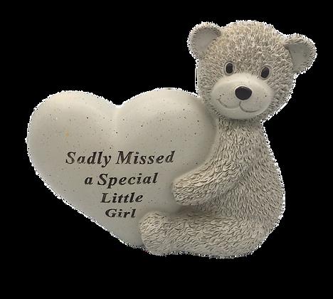 Memorial Teddy Bear Plaque