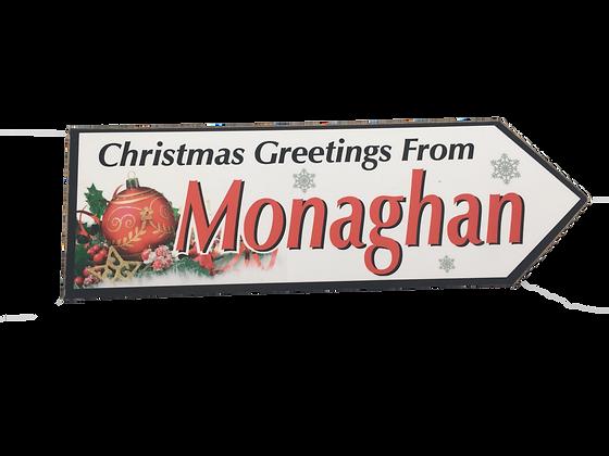 Monaghan County Sign