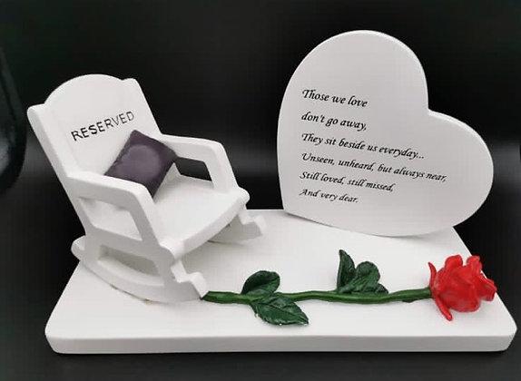 Memorial Rocking Chair