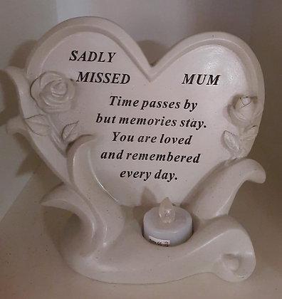 Mum Grave Plaque