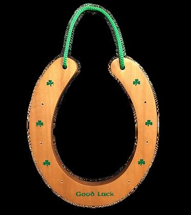 Wooden Horse shoe