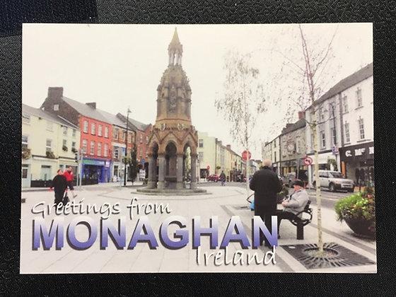 Monaghan Town Postcard