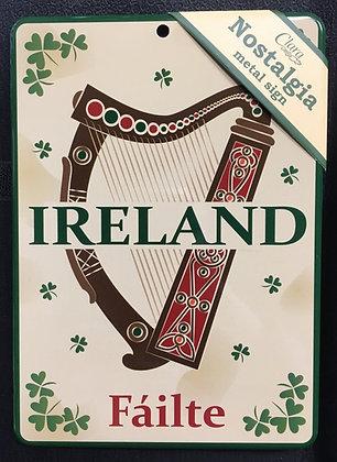 Ireland Metal Signs