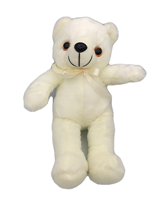 Light Up White Teddy Bear