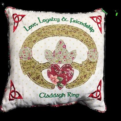 Claddagh Ring Cushion