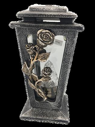 Lantern with Rose design