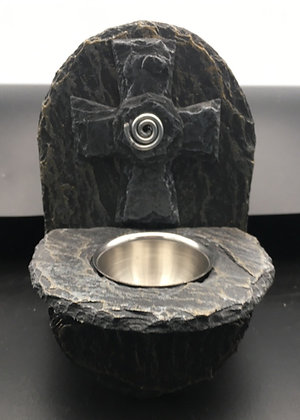 Slate Holy Water Font