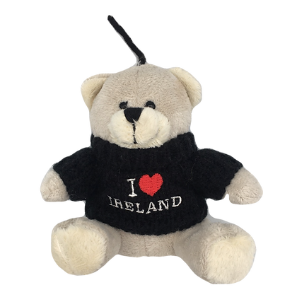 Ireland Teddy Keyring