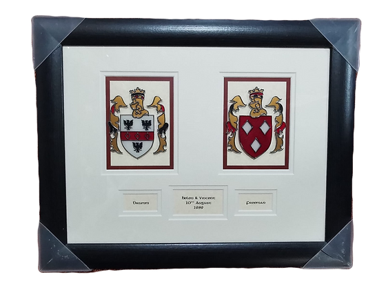 Stain Glass Coat of Arms