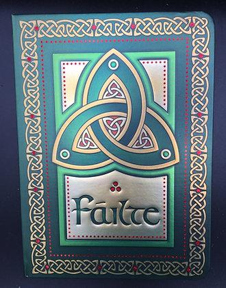 Irish Note Book