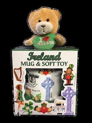 Ireland Mug and Soft Toy