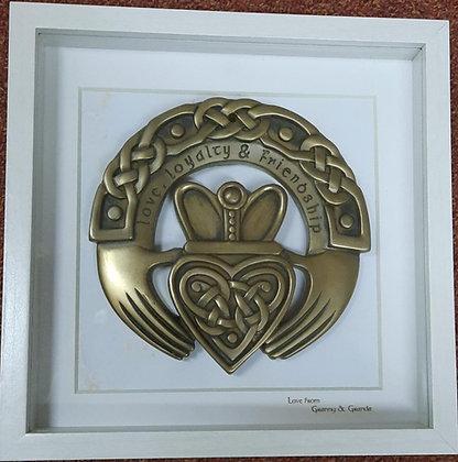 Bronze Claddagh Frame