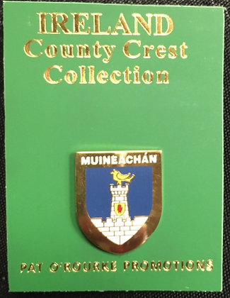Monaghan Crest Pin