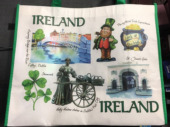 Reusable Ireland Shopping Bag