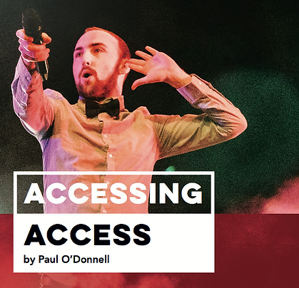 An image of the front cover of Accessing