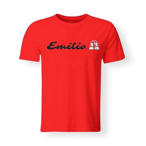 Emilio Inc. Red Deluxe T-Shirt