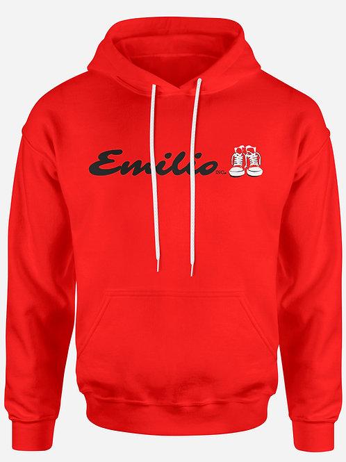 Emilio Inc. Red Hoodie