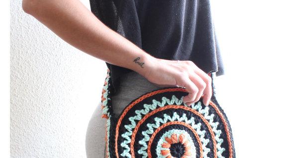 Patrón FlowerSky Bag