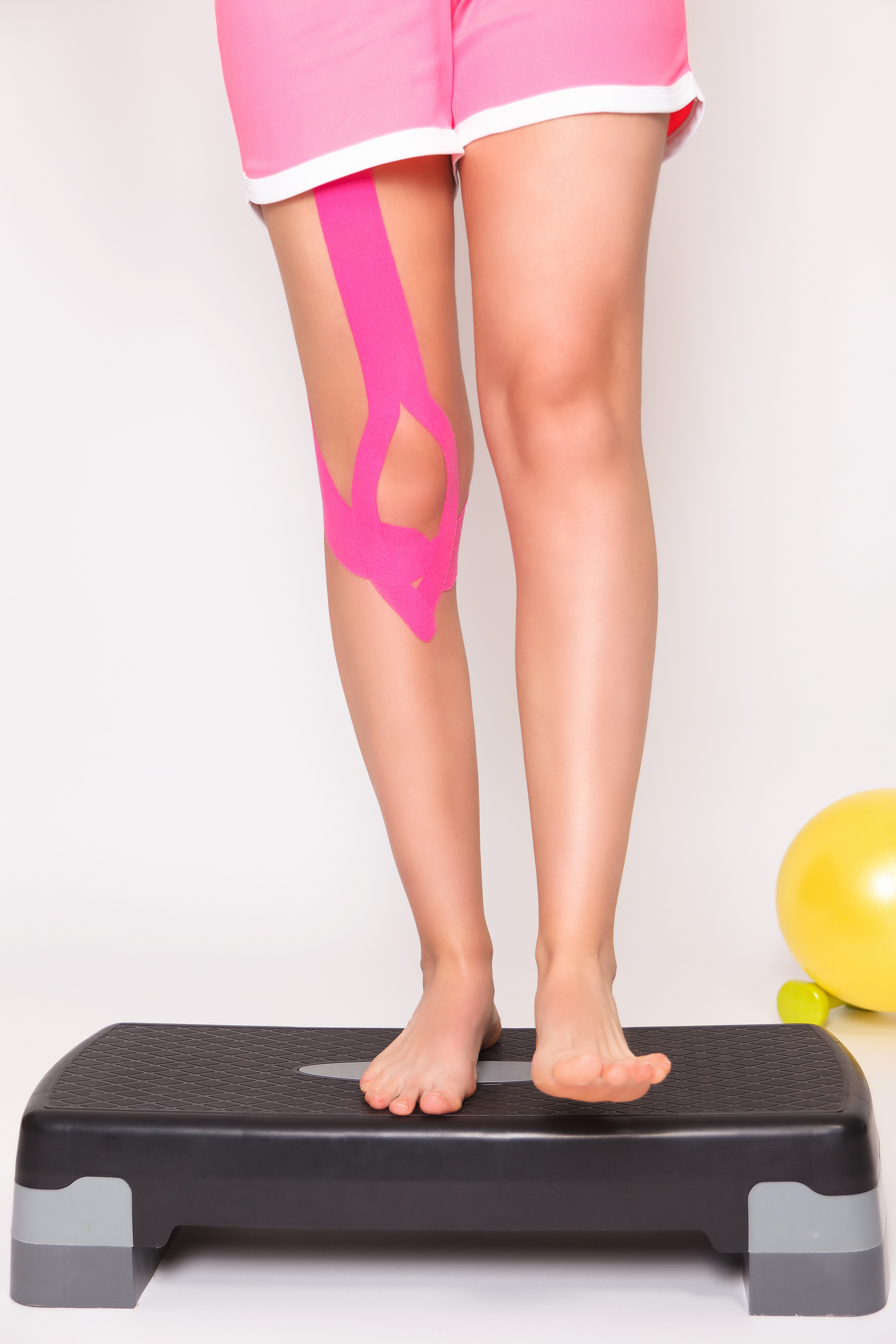 Exercise After Leg Injury With Tape