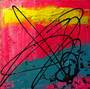 Laura Notari - Colors&Music-Mixed Media on Canvas-30x30-2021.jpeg
