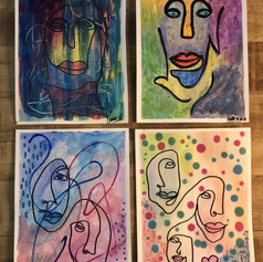 """PRIVATE COLLECTION - Series """"Faces"""""""