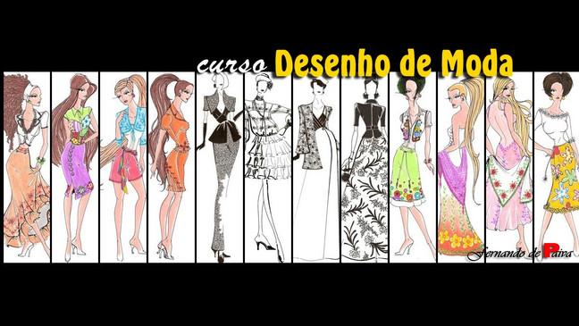 """Curso """"Desenho de Moda""""  -  Ministrado agora também em Campo Grande, RJ"""