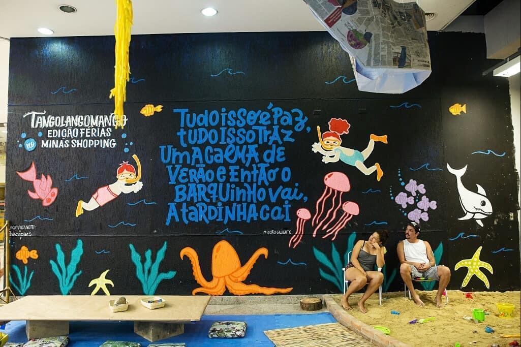 Pintura Tango Lango Minas Shopping 2019