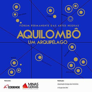 Identidade Visual para o Aquilombô - Fórum Permanente das Artes Negras - maio 2018