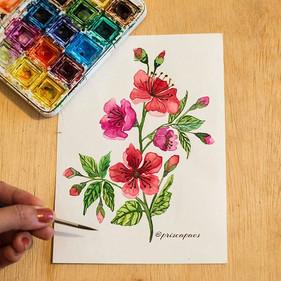 flores ___._Pinturinha pra desenferruja