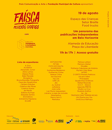 Faísca - Mercado Gráfico - BH