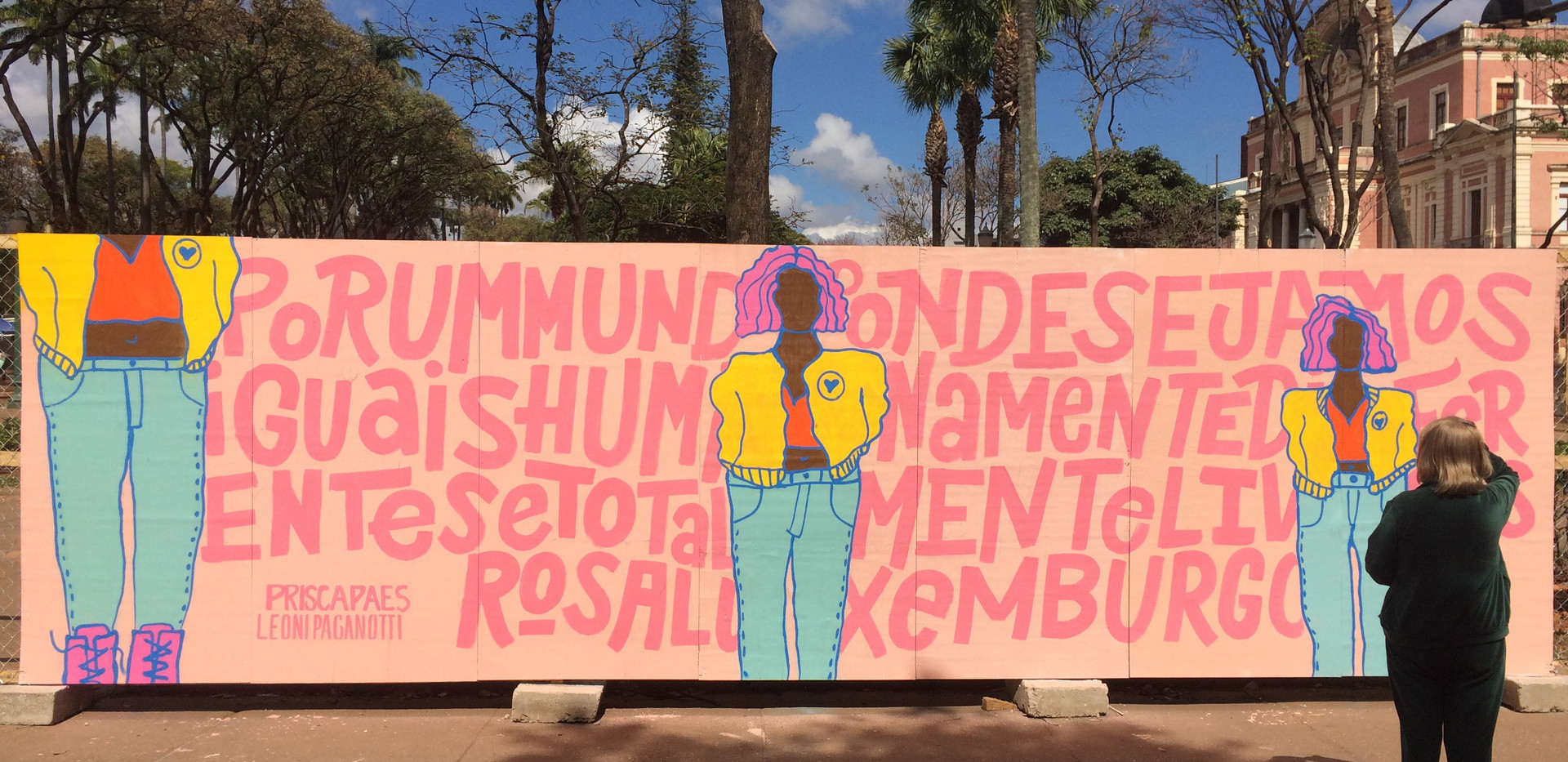 Mural Liberdade 2018
