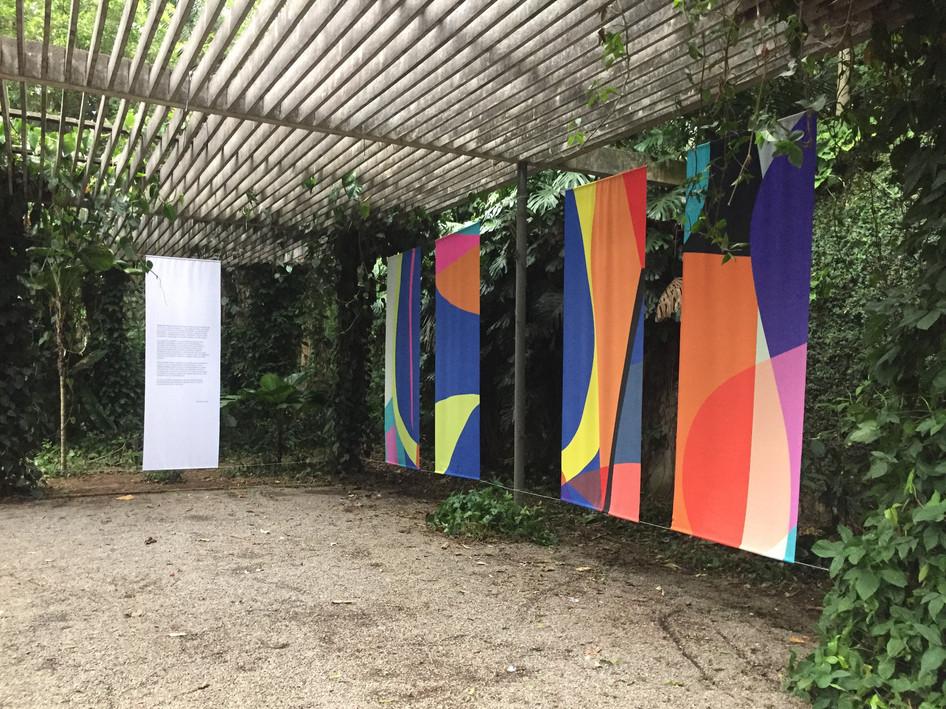 Golpe de Vista, 2018 300x600cm Arte digital sobre tecido sintético