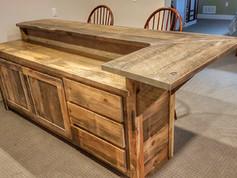 Barn Board Pine Bar