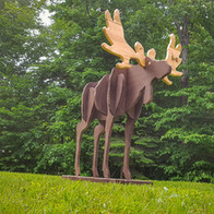 "6"" Tall Moose"