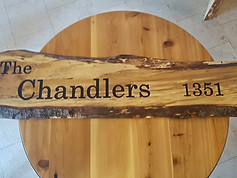 The Chandlers Custom Sign