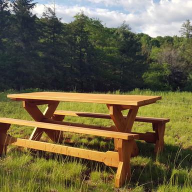 Cedar Picnic Table Set