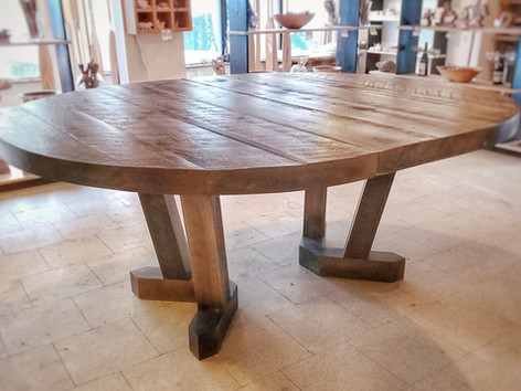 Pedestal Table Expanded