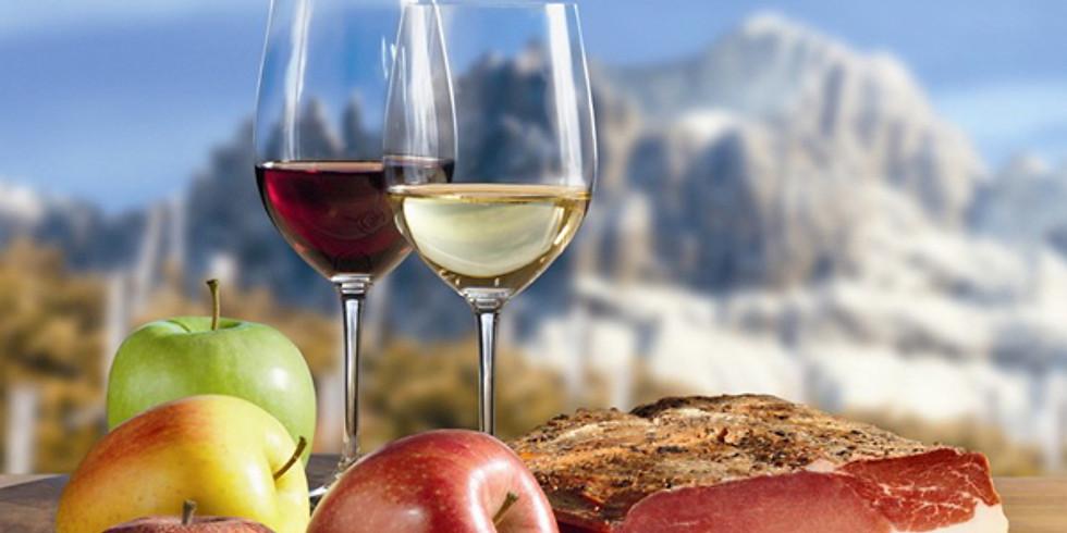 Trentino Alto Adige tasting