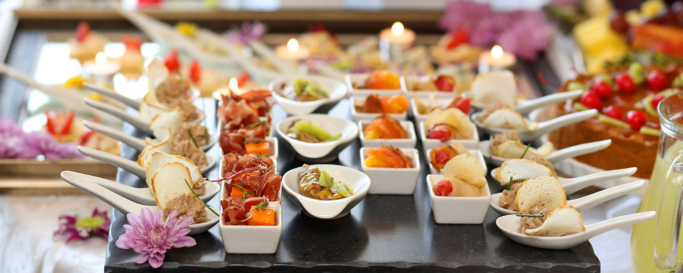Canapes buffet
