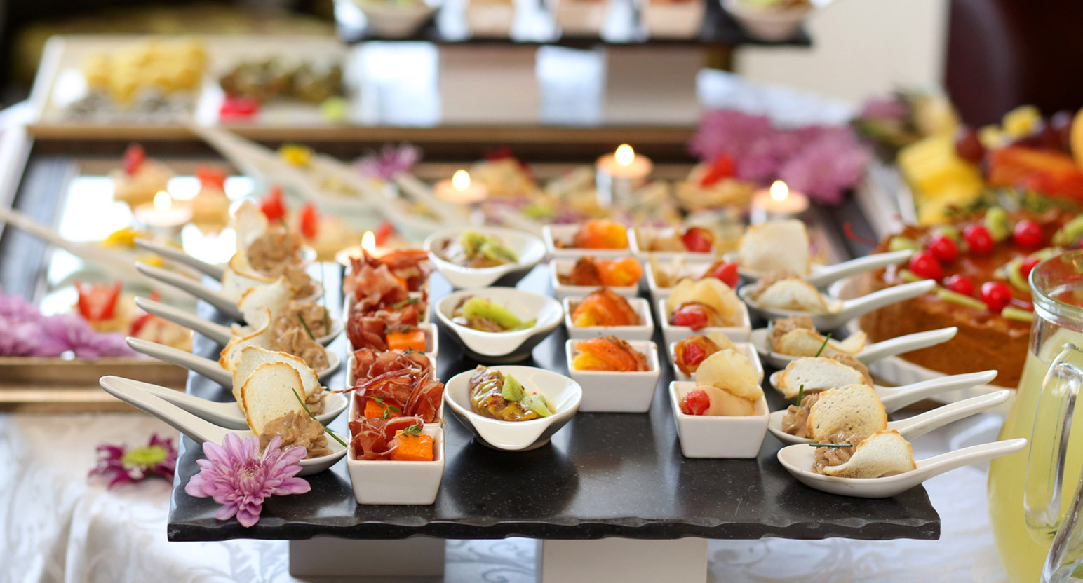 Canapes selection