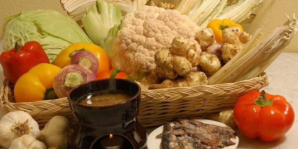 December Piedmont menu