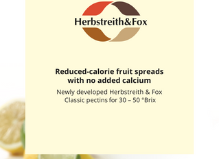 Reduced Calorie Fruit Spreads with NO need to add Calcium!