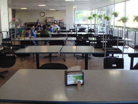 Cafeteria in HHH building