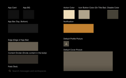 EkoBlack - StyleGuide - Overall Color Guide