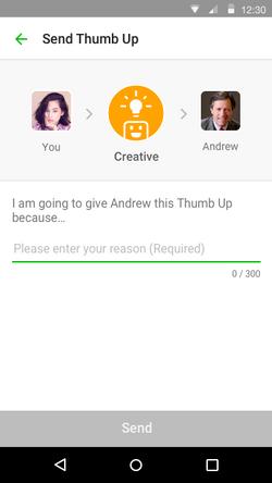 Thumb Up - Reason