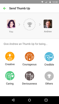 Thumb Up - Select