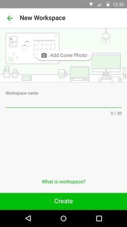 Workspace - New Workspace