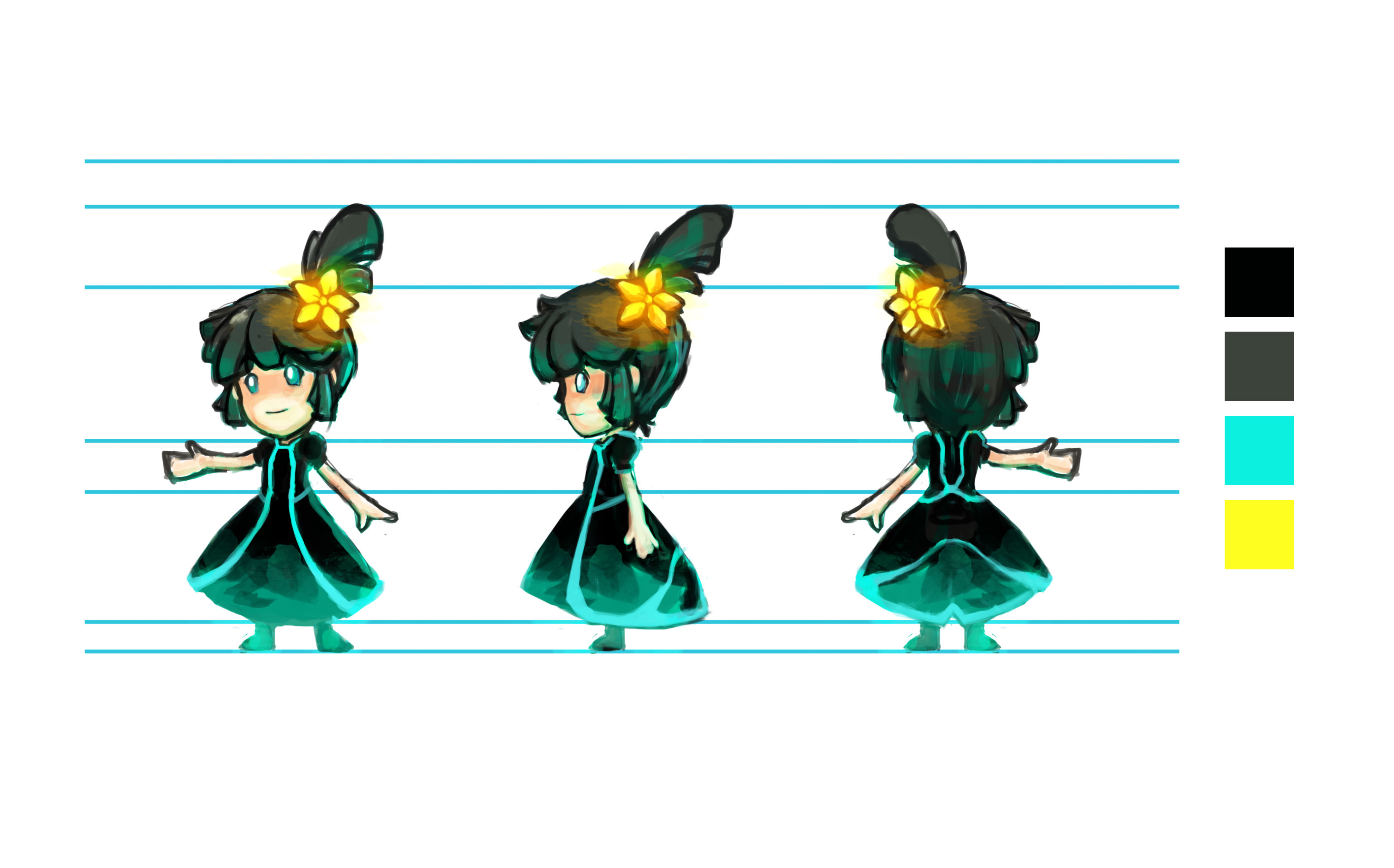 Character Design - The Little Shadow