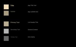 EkoBlack - StyleGuide - Overall Font Guide